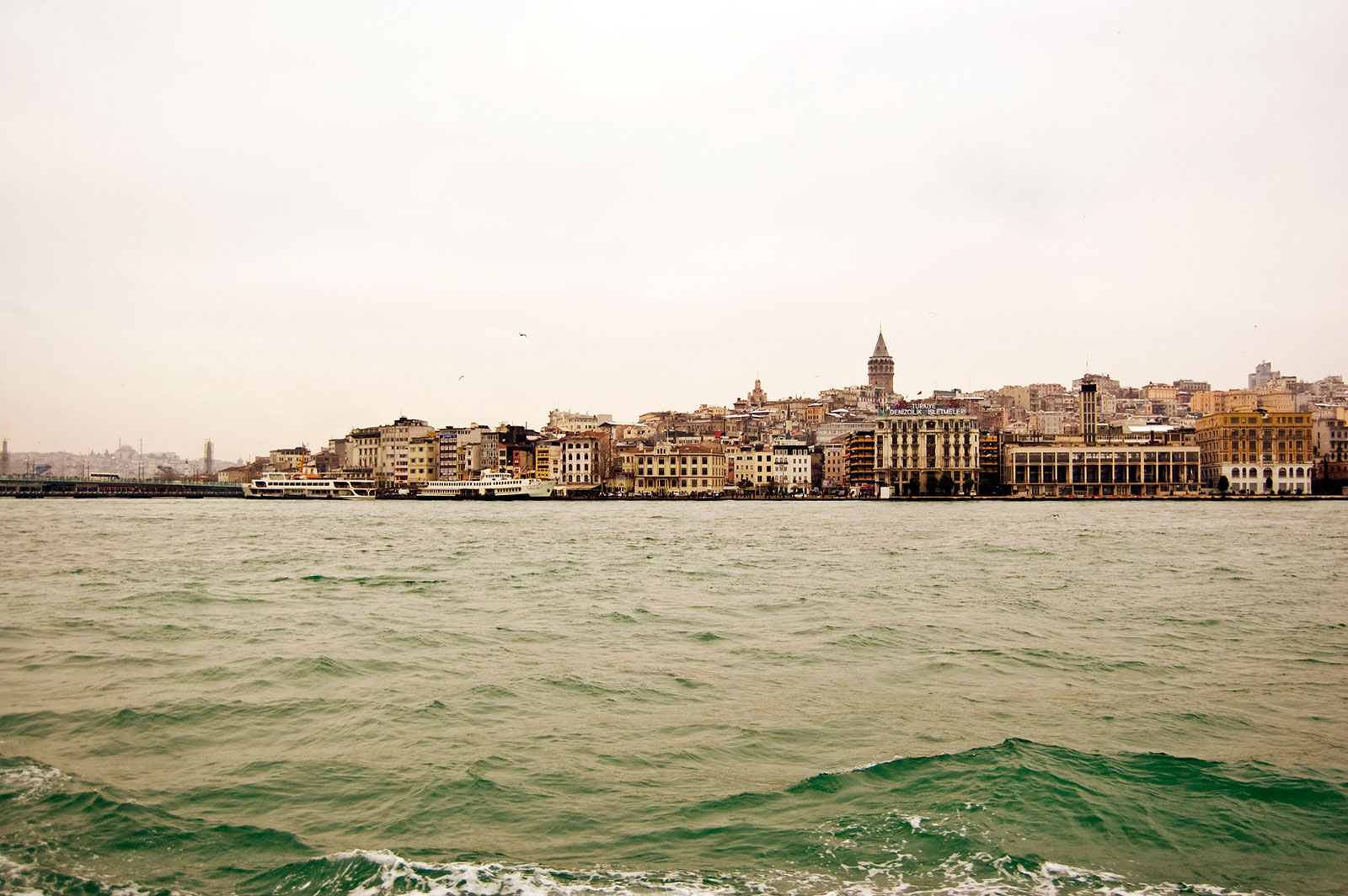 Istanbul from Bosphorus - Michael Justin Robison | Photographer